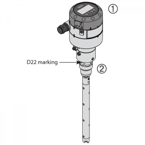 Danfoss AKS 4100, coaxial version D22, contents
