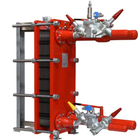 Kuldenor Danfoss semi-welded-heaters-industri